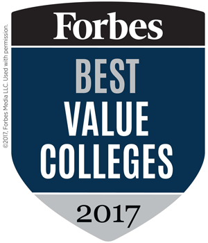 Forbes Best Value College 2017